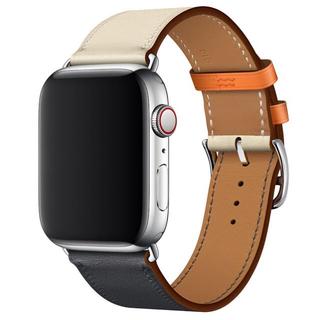 アップルウォッチ(Apple Watch)のApple Watch series4 HERMES 大人気レザーバンド(腕時計(デジタル))