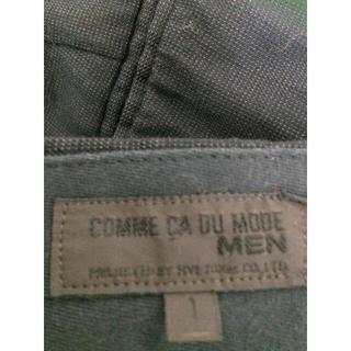 コムサデモード(COMME CA DU MODE)のコムサダモード  メンズ  スラックス(スラックス/スーツパンツ)