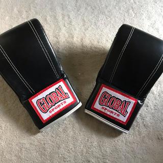 グローバル(GLOBAL)のボクシンググローブ 黒(格闘技/プロレス)