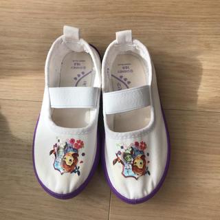ディズニー(Disney)のソフィア 上靴 バレーシューズ 16センチ(スクールシューズ/上履き)