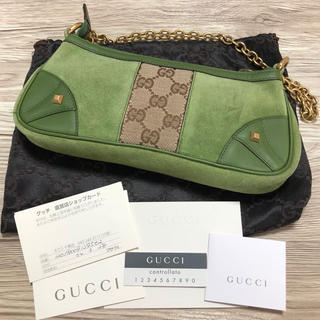 fa91e5bfba7d グッチ(Gucci)のGUCCI グッチ スエード ミニバッグ 正規品(ハンドバッグ)