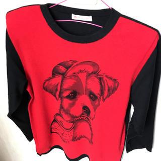 アンドレルチアーノ(ANDRE LUCIANO)のアンドレルチアーノ セーター犬(ニット/セーター)