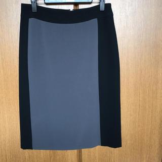 デミルクスビームス(Demi-Luxe BEAMS)のデミルクスビームス ツートンカラー スカート(ひざ丈スカート)