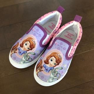 ディズニー(Disney)の小さなプリンセスソフィア スリッポン ソフィア 17㎝ 17センチ(スリッポン)