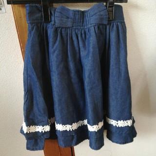リズリサ(LIZ LISA)のブルー スカート(ひざ丈スカート)