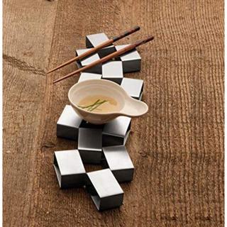 エルメス(Hermes)のレア❤️カールメルテンス❤️フォーシーズンズ利用ブランド鍋敷き(テーブル用品)