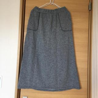 シマムラ(しまむら)のしまむら 裏起毛 ロングスカート LL(ロングスカート)