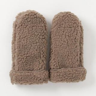 メルロー(merlot)のmerlot シープボアミトン(手袋)