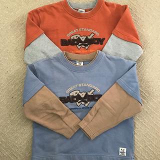 バッドボーイ(BADBOY)の120サイズトレーナー(Tシャツ/カットソー)