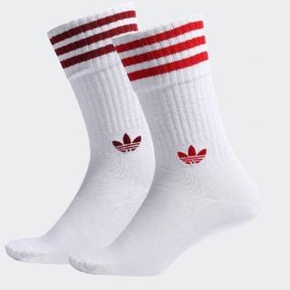 アディダス(adidas)の専用 adidas アディダス オリジナルス ソックス レッド (ソックス)
