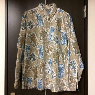 サンサーフ(Sun Surf)の稀少品 Sun Surf(サンサーフ)JOHN SEVERSON長袖アロハシャツ(シャツ)