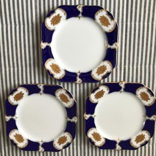 オオクラトウエン(大倉陶園)の大倉陶園 クィーンローズ 青 皿 (食器)