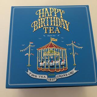 TWG tea happy birthday ストロベリー 苺 紅茶 高級(茶)