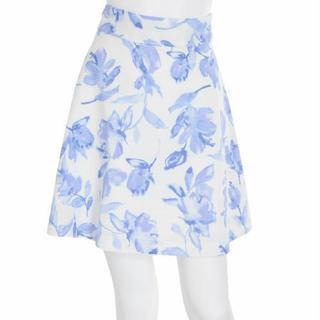 マーキュリーデュオ(MERCURYDUO)のカラー水彩スカート(ミニスカート)
