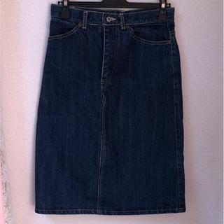 ダブルネーム(DOUBLE NAME)のダブルネーム デニムタイトスカート Mサイズ(ひざ丈スカート)