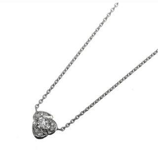 デビアス(DE BEERS)のデビアス フラワー ダイヤ ネックレス(ネックレス)