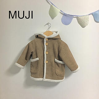 ムジルシリョウヒン(MUJI (無印良品))の無印ムートン調コート90(その他)