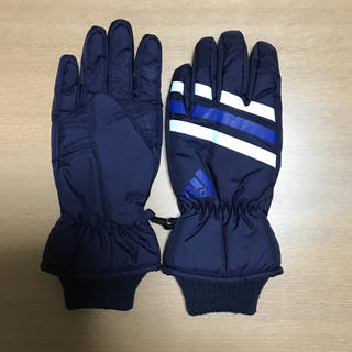 アディダス(adidas)のサンキュー様専用☆アディダス 子供用 防水手袋 (手袋)