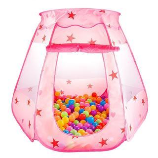 LeHom ボールプール 折り畳み式  (ピンク)(スポーツ)