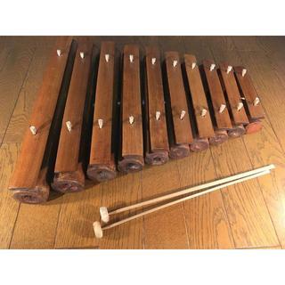 竹シロフォン (木琴)