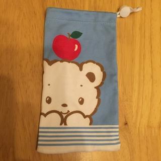 ファミリア(familiar)のファミリア   携帯 クリーナー 巾着 スマホクリーニングポーチ(モバイルケース/カバー)