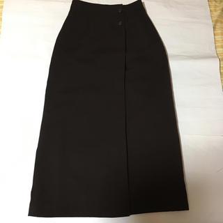エンスウィート(ensuite)の【超美品】ensuite ロングスカート M こげ茶色で素敵です。(ロングスカート)