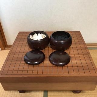 囲碁盤と碁石セット(囲碁/将棋)