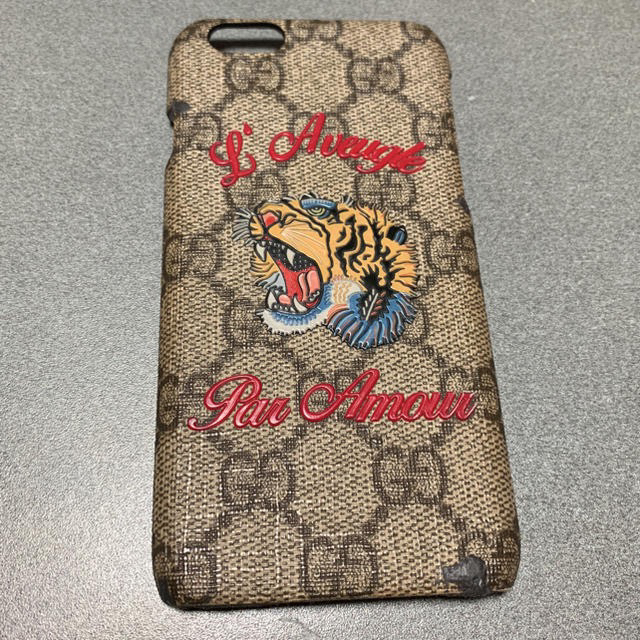 iphone 8 ケース 持ちやすい / Gucci - Gucci iPhoneケースの通販 by paburo|グッチならラクマ