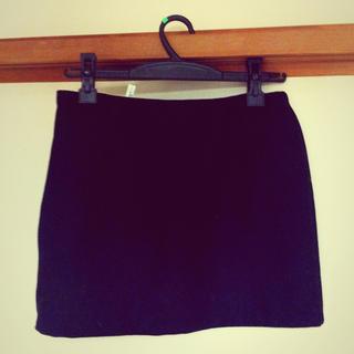 ブラックタイトミニスカート(ミニスカート)