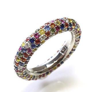ポンテヴェキオ(PonteVecchio)の正規品 ポンテヴェキオ ETERNO エテルノリング #13 K18WG(リング(指輪))