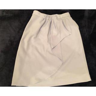 デビュードフィオレ(Debut de Fiore)のデビュードフィオレ バックフリルタイトスカート(ひざ丈スカート)