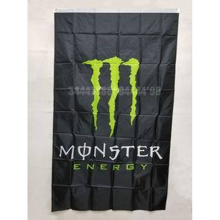 モンスターエナジー フラッグ 大判 90×150cm バナー タペストリー 旗(ロールスクリーン)