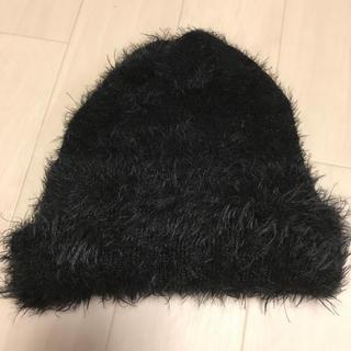 ムルーア(MURUA)のムルーア シャギー ニット帽(ニット帽/ビーニー)