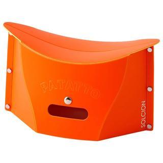 折りたたみ椅子 パタット ミニ 15cm 人気のオレンジ☆(折り畳みイス)