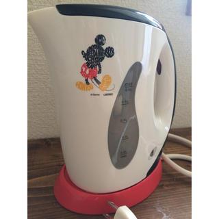 ディズニー(Disney)の【値下げ】ディズニーデザインの電気ケトル(電気ケトル)