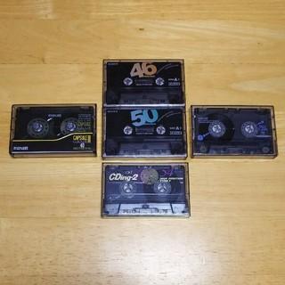 ティーディーケイ(TDK)のSONY maxell TDK カセットテープ 5本セット ハイポジ メタル(その他)