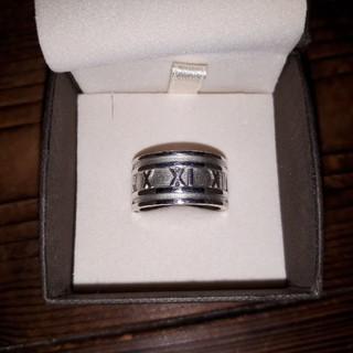 ティファニー(Tiffany & Co.)のTIFFANY&Co.ティファニー アトラスワイドリング SV925 17号(リング(指輪))