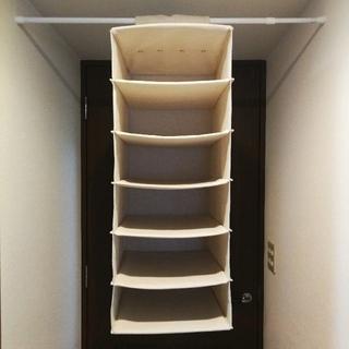 ムジルシリョウヒン(MUJI (無印良品))の無印良品 シャツホルダー 吊り下げ式(押し入れ収納/ハンガー)
