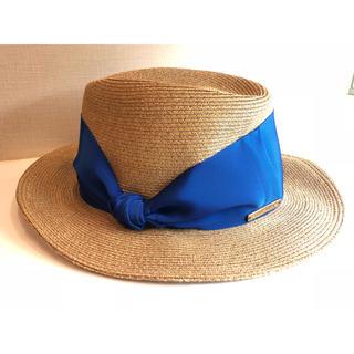 ユナイテッドアローズ(UNITED ARROWS)ののん様専用 値下げ!Athena New York カミラ 帽子(麦わら帽子/ストローハット)