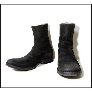 カルペディエム(C DIEM)のC-DIEM カルペディエム リバースカーフ バックジップブーツ(ブーツ)
