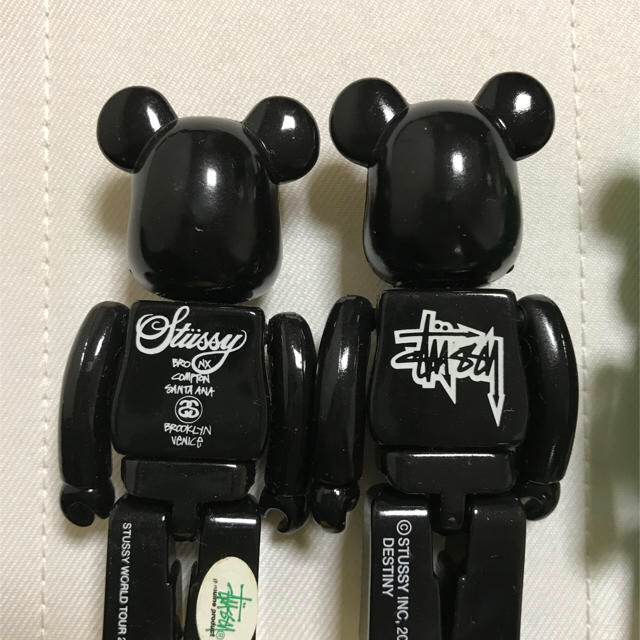 STUSSY(ステューシー)のベアブリック 100% stussy 2006年 2008年のセット メンズのメンズ その他(その他)の商品写真
