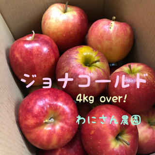 訳あり☆ジョナゴールド4kg over!☆おまけりんご付き!(フルーツ)