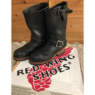 レッドウィング(REDWING)のレッドウィング エンジニアブーツ黒色(ブーツ)
