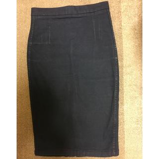 ザラ(ZARA)のZARA デニムスカート(ひざ丈スカート)