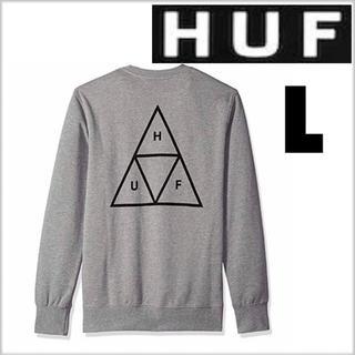 ハフ(HUF)のHUF スウェット グレー L(スウェット)