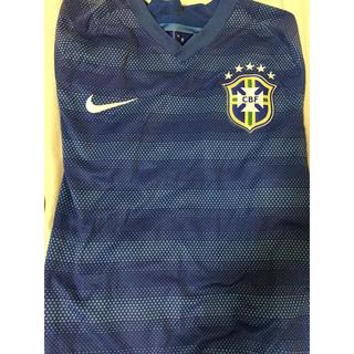 ナイキ(NIKE)のサッカーブラジルユニホーム(応援グッズ)