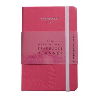 スターバックスコーヒー(Starbucks Coffee)のスターバックス 海外台湾 スタバxモレスキン 2019 手帳 ピンク(カレンダー/スケジュール)