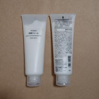 ムジルシリョウヒン(MUJI (無印良品))の無印良品 マイルド洗顔フォーム(洗顔料)