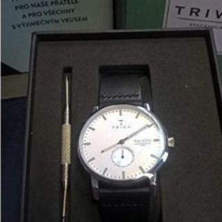 トリワ(TRIWA)の【新品・未使用】TRIWA IVORY FALKEN BLACK(腕時計(アナログ))