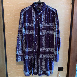 アップルバム(APPLEBUM)のAPPLEBUM 刺繍ロングシャツ(シャツ)